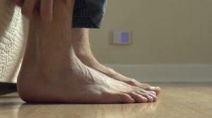 Feet Floor